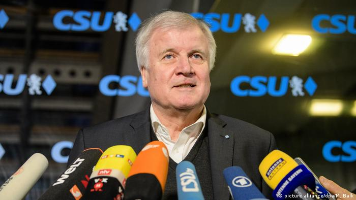 Horst Seehofer (picture alliance/dpa/M. Balk)