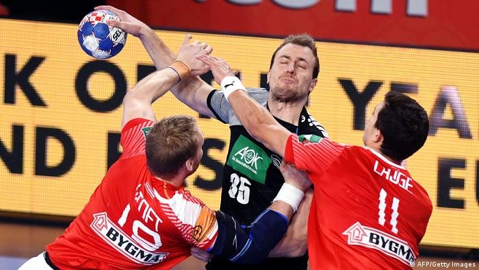 Handball Germany On The Brink After Loss To Denmark