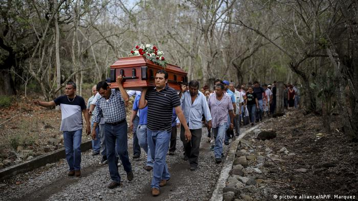 Many of the victims' families have accused the Mexican government of failing to provide basic security