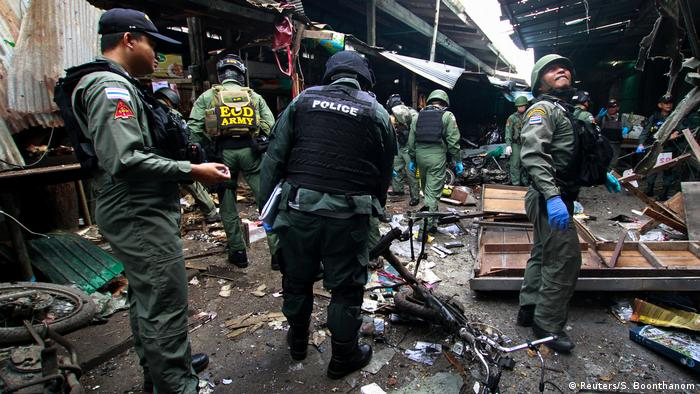 Thailand Bombenanschlag in Yala (Reuters/S. Boonthanom)