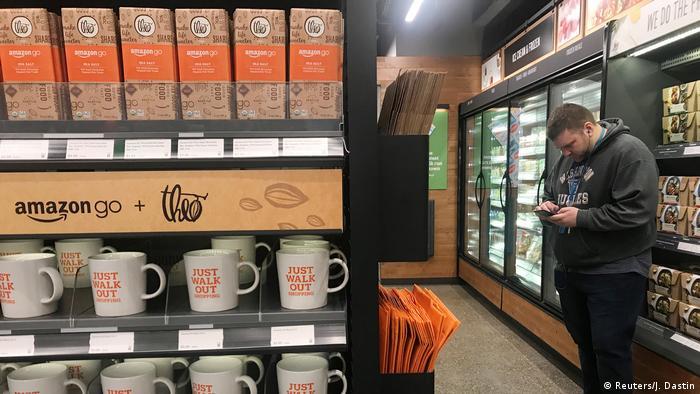 USA Amazon Go Store in Seattle - Supermarkt ohne Kassen