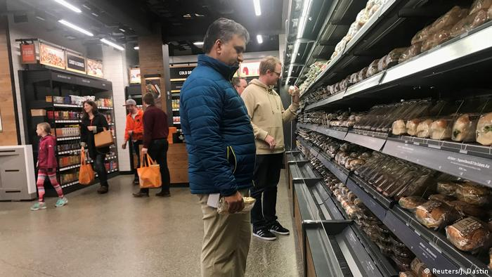 USA Amazon Go Store in Seattle - Supermarkt ohne Kassen (Reuters/J. Dastin)