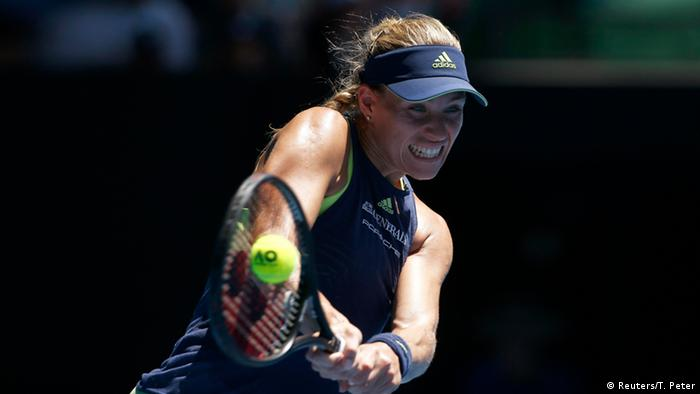 Australian Open Angelique Kerber vs Hsieh Su-We
