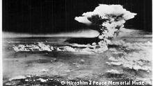 The Hiroshima A-bomb blast photographed by the US military on August 6, 1945