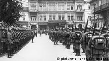 Ukraine Deutsche Truppen besetzen Kiew im März 1918