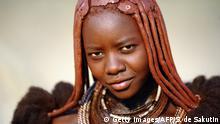 Namibia Himba-Frau