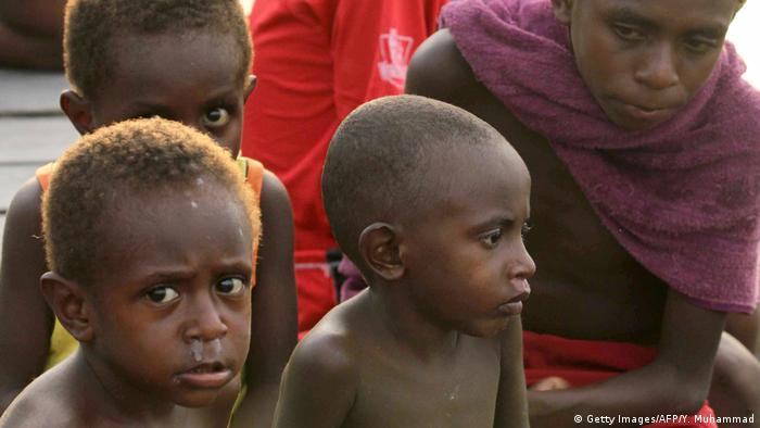 Indonesien Rund hundert Masern-Tote in Papua befürchtet (Getty Images/AFP/Y. Muhammad)