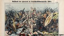 Deutsch-Südwestafrika Holzstich Hererokrieg Hereroaufstand
