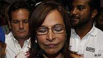 Balbina Herrera (Foto: AP)