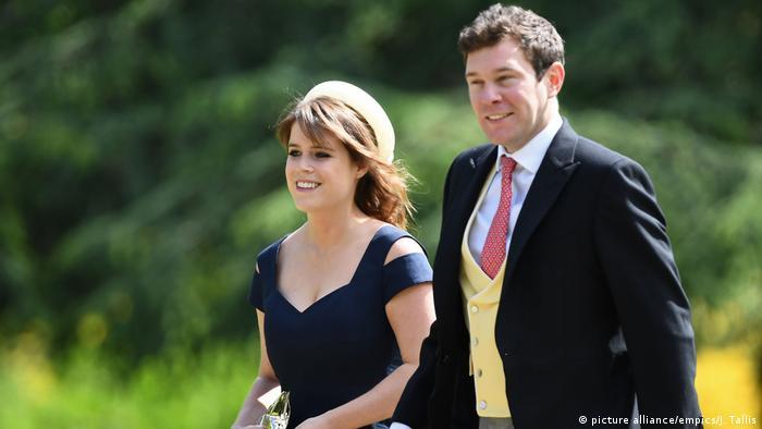 Princess Eugenie of York and her long-term boyfriend Jack Brooksbank