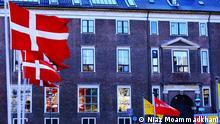 Imagem de edifício em Copenhague, na Dinamarca