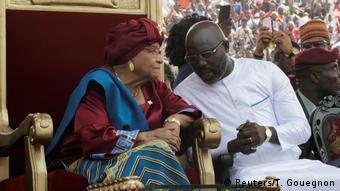 Ellen Johnson Sirleaf a passé le flambeau à son successeur George Weah en janvier 2018