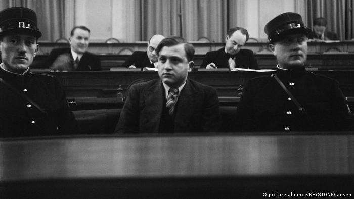 Schweiz BG Davos | Prozess gegen David Frankfurter 1936 (picture-alliance/KEYSTONE/Jansen)