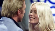 Boris Becker und Claudia Schiffer