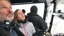Vidoe-Still Nicole Frölich, Zugspitze,