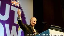 Großbritannien UKIP Konferenz Torquay Henry Bolton