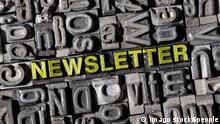 Newsletter Symbolbild (imago stock&people)