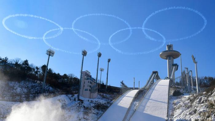 Pyeongchang, (picture alliance/YNA/Air Force)