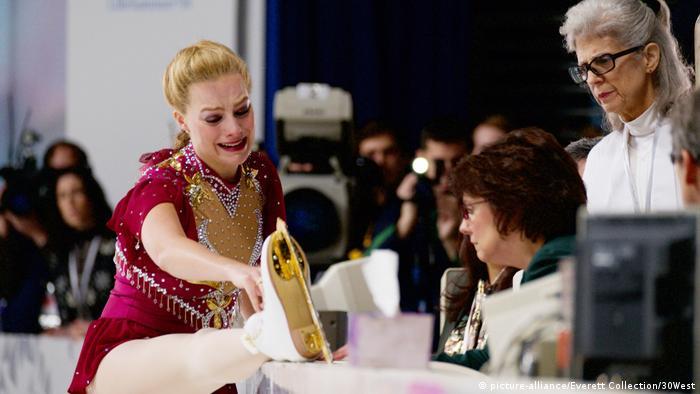 Film still 'I, Tonya'. Margot Robbie in the role of figure skater Tonya Harding.