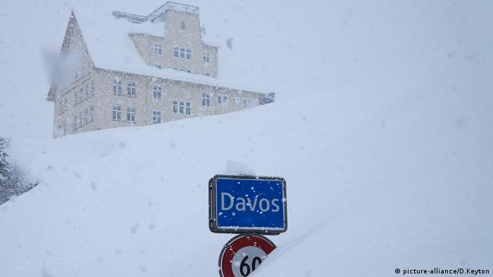 Snow-covered Davos