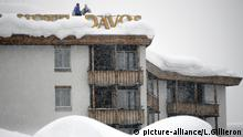 Schweiz, World Economic Forum in Davos
