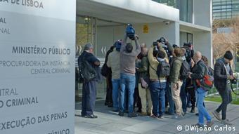 Portugal Lissabon Medienberichterstattung über Operation Fizz
