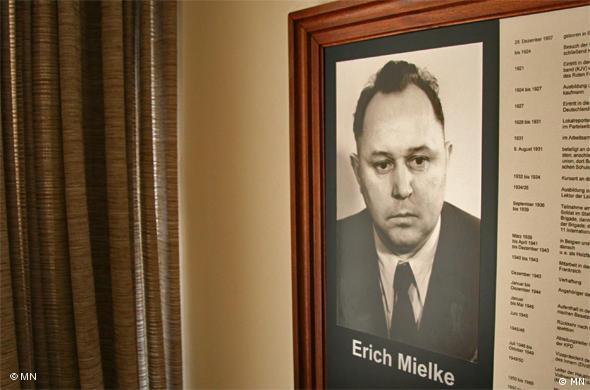 Эрих Мильке возглавлял штази более 30 лет