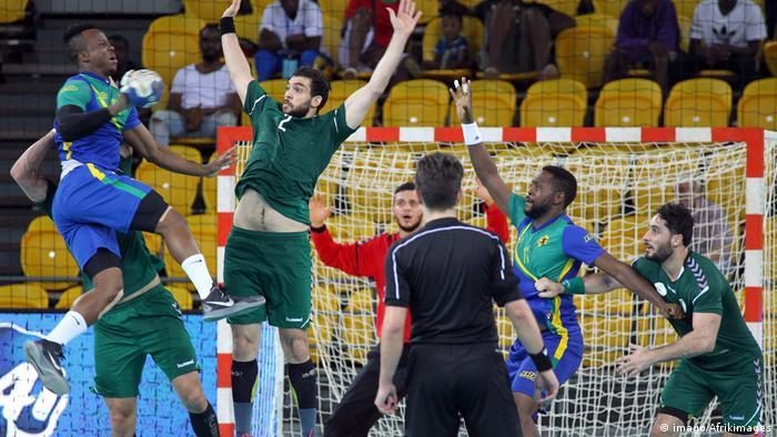 Handball Afrikameisterschaft Gabun - Algerien