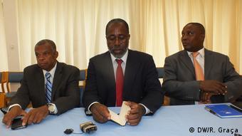 São Tomé und Príncipe Oppositionsführer