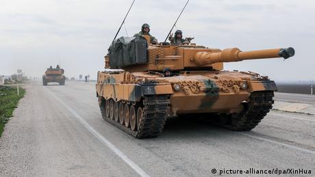 """DW: """"Να σταματήσουν οι εξαγωγές όπλων στην Τουρκία"""""""