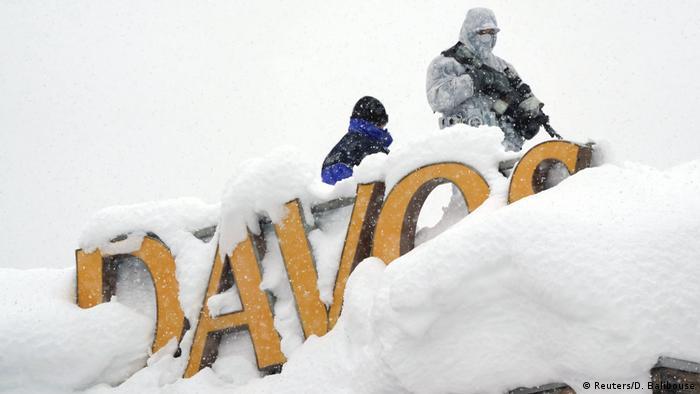 Schweiz Weltwirtschaftsforum WEF in Davos (Reuters/D. Balibouse)