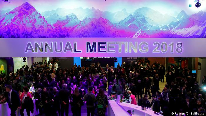 The World Economic Forum in Davos, Switzerland (Reuters/D. Balibouse)