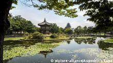 Südkorea Park um den Gyeongbokgung Palast in Seoul