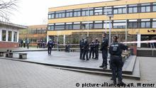 Pupil killed at secondary school in Lünen (picture-alliance/dpa/R. Werner)
