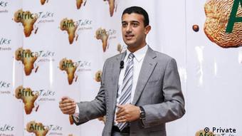 Tareq Alkholy im Gespräch mit DW (Private )