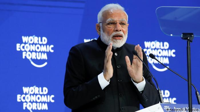 Виступ індійського прем'єр-міністра Нарендри Моді на Всесвітньому економічному форумі у Давосі