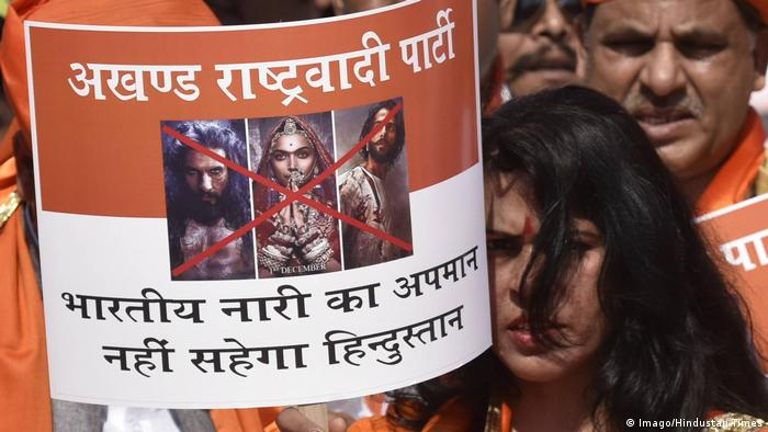 Indien Kontroverse um Bollywood-Film Padmavati (Imago/Hindustan Times)