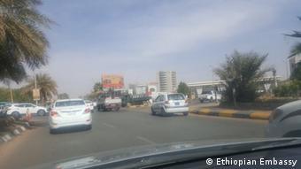 Sudan - Der äthiopischen Botschaft in Khartum