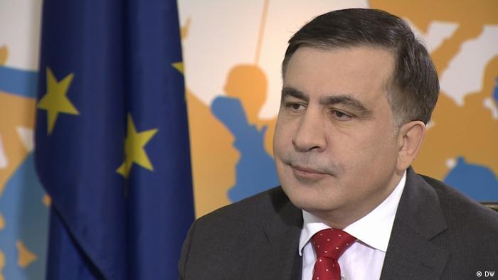 Михаил Саакашвили в програмаме Conflict zone