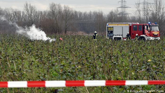 Deutschland philippsburg Kleinflugzeug & Hubschrauber Unfall