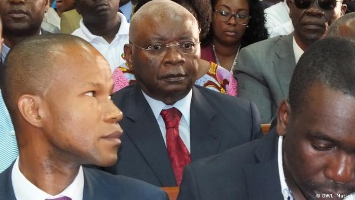 Maputo, Mosambik Zófimo Muiane vor Gericht (DW/L. Matias)