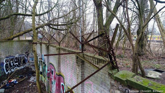 Rest of the Berlin Wall found in Schönholz