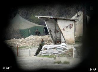 Российский солдат в Южной Осетии (архив)
