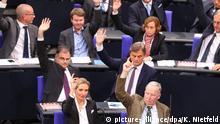 Blick in die AfD-Fraktion im Bundestag (Archivbild)