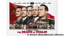 Filmposter Großbritannien The death of Stalin