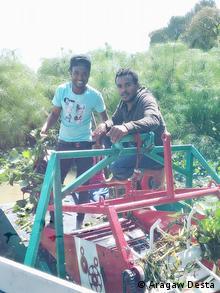 Äthiopien - Tana See - Kleine Maschine