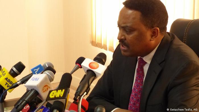 Dr Workneh Gebeyehu äthiopischer Außenminister 23.01.2018