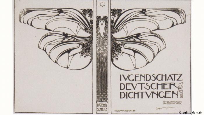 Kolo Moser - Einbandsentwurf - 1897 (public domain)