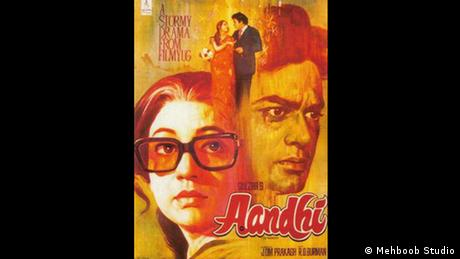 Indien Bollywood Film Aandhi (Mehboob Studio)