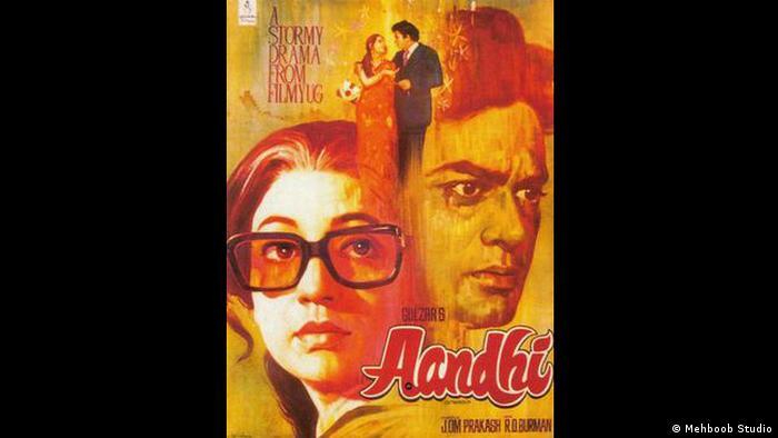 Indien Bollywood Film Aandhi (Mehboob Studio)